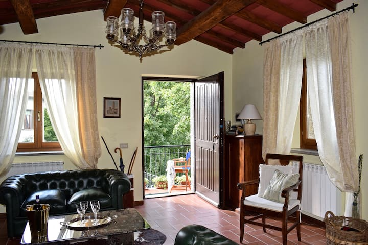 CASA CON VISTA  -  Val  d'Orcia  Holiday  home