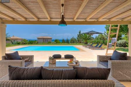 Beachfront Villa Tramonto Porto Heli - Argolida - Villa