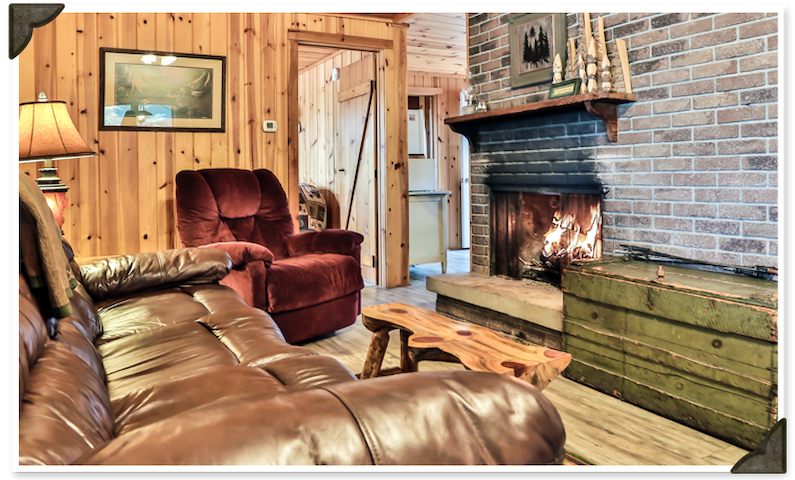 Shamrock 2 - 4 person special with fireplace