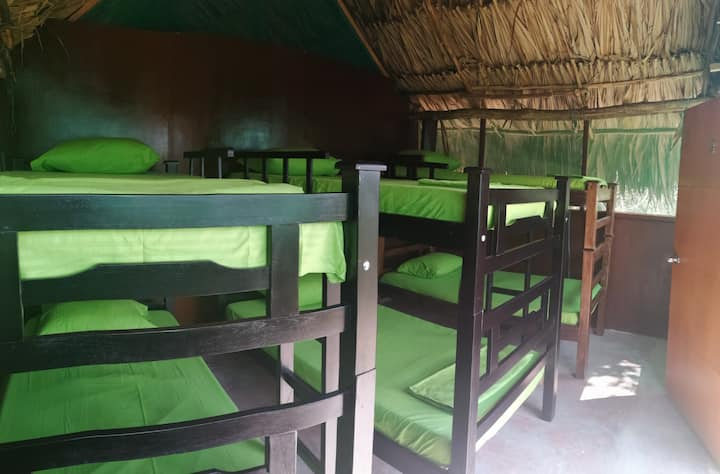 HabCompartidaDENTROdel ParqueTayrona/Desayuno/Wifi