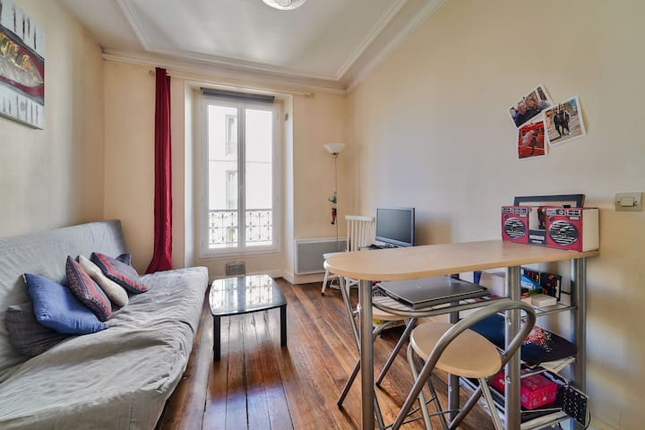 Perfect apartment for two people in LEVALLOIS