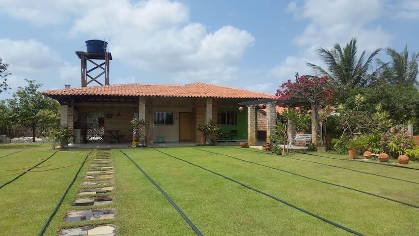CHALÉ DAS FLORES-LENÇÓIS MARANHENSES-CASA INTEIRA - Santo Amaro do Maranhão - House