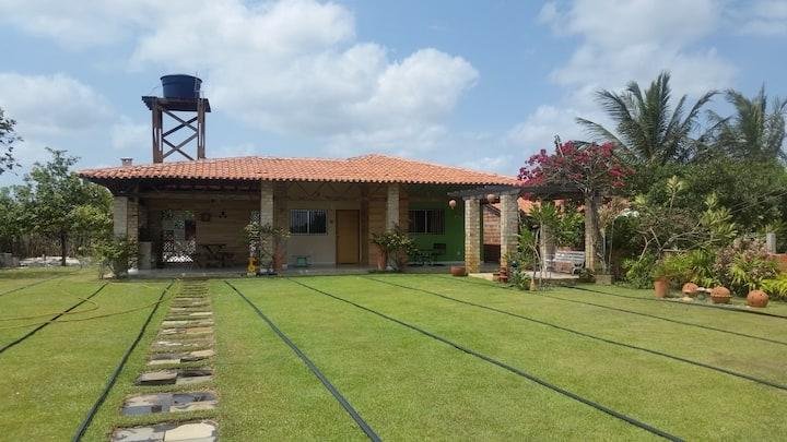 Chalé das Flores-Lençois Maranhenses- Casa Interia