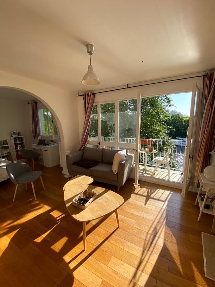 Appartement en bord de Seine