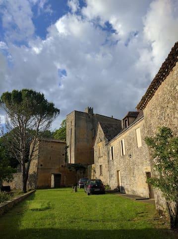 House in medieval Castle - 24440 Montferrand-du-Périgord - House