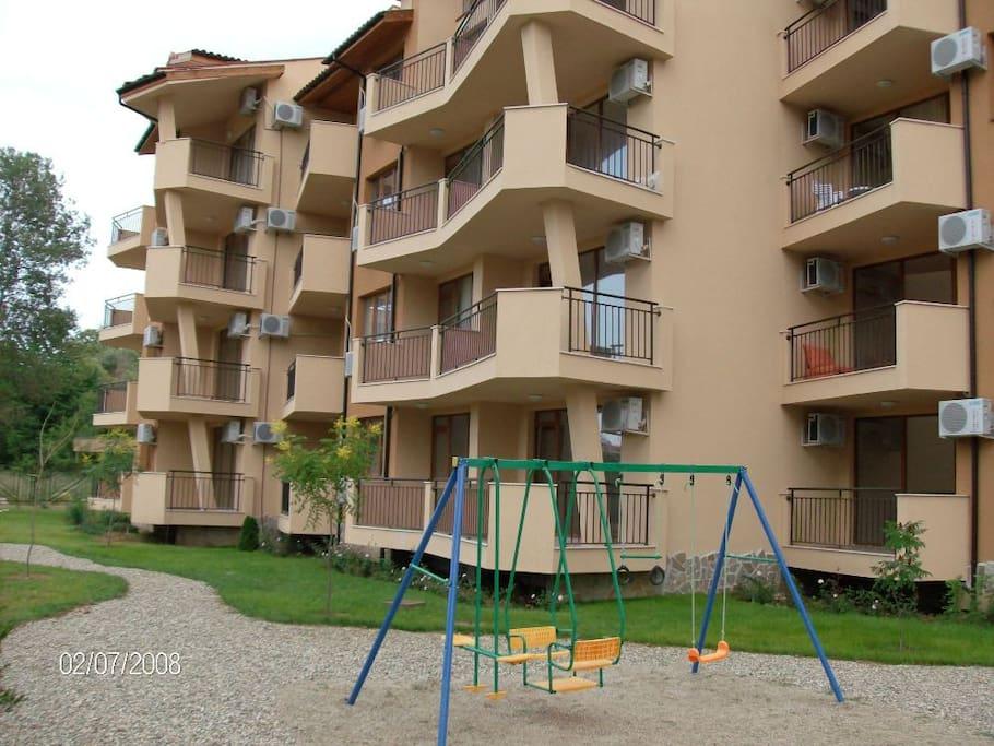 Корпус с апартаментами