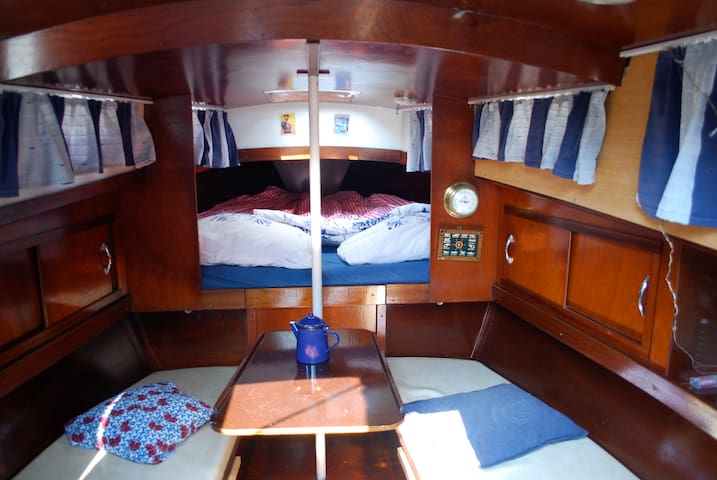 Romantic boat stay in old city center - Ámsterdam - Barco
