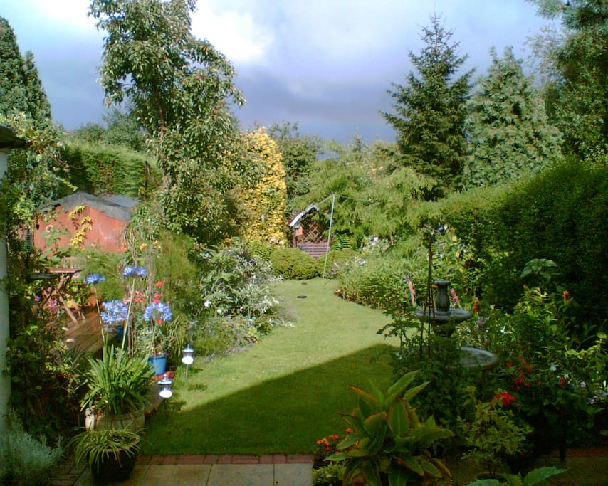 View from the bedroom window