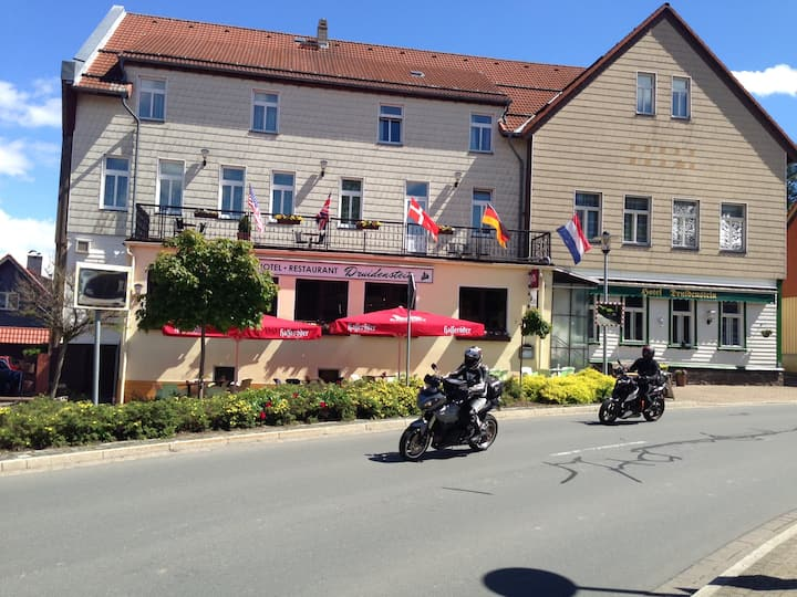 Druidenstein, ein Urlaub im Harz