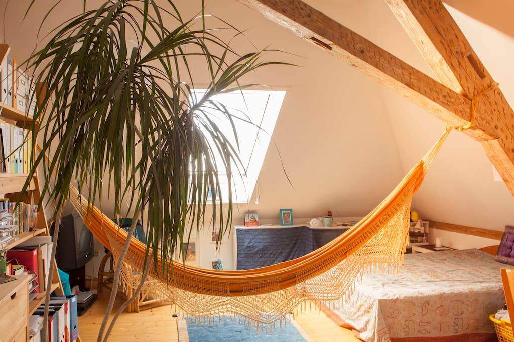 bed breakfast gem tl g nstig yogaraum wiehre. Black Bedroom Furniture Sets. Home Design Ideas