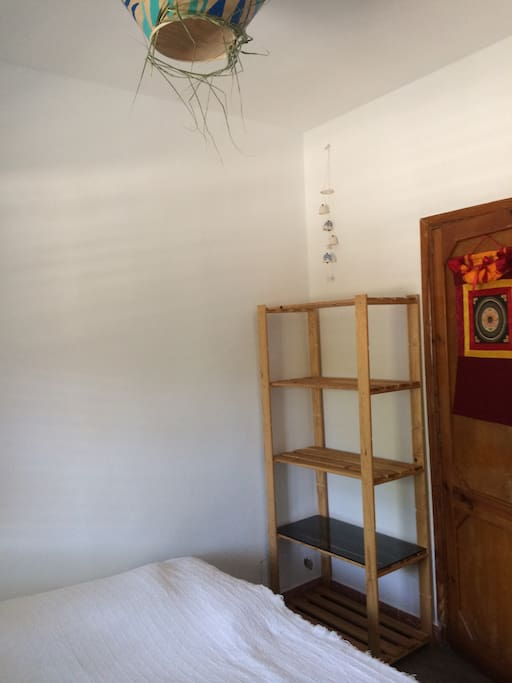 Double bed- freshly painted room, light and fresh.