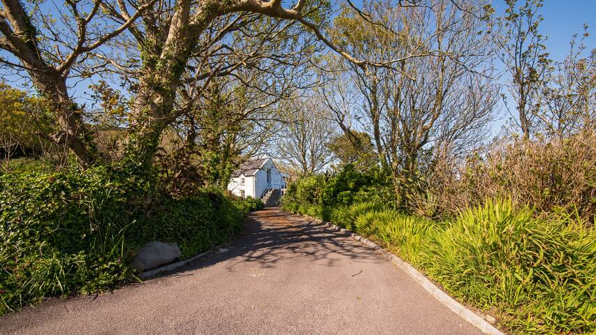 Entrance Drive to Traharta House and Cottage