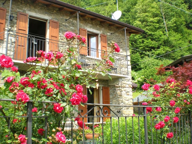 Charming house with garden - WiFi - Breglia - Leilighet