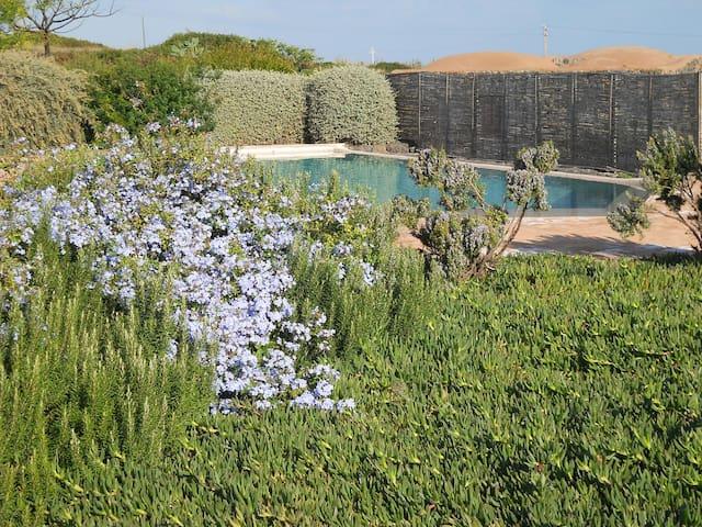 piscine protette dalla vegetazione