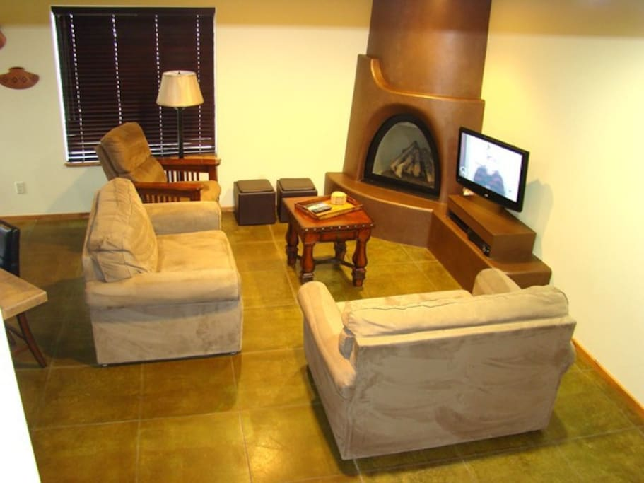 Living Area | Flat Screen Television