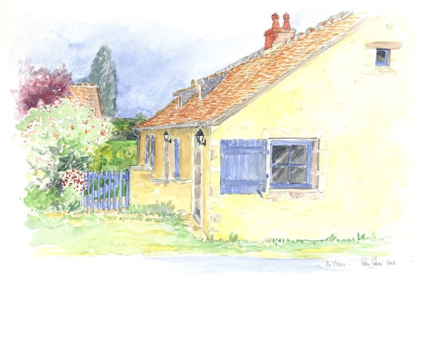 Le charme et la tranquillité  - Asnières-sur-Vègre