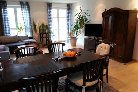 Helle moderne 2 Zimmer Wohnung - Hallbergmoos
