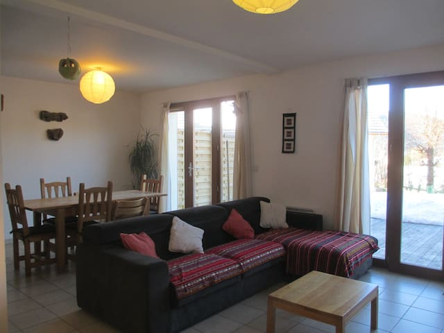 Maison 110m² - 4 chambres/8 pers. proche centre