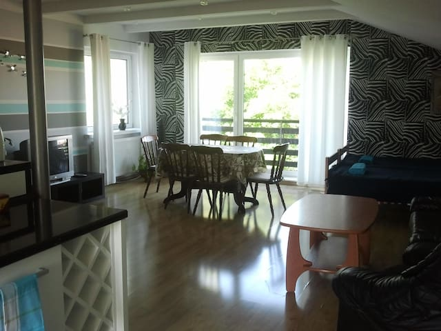 Apartment near Gdynia and sea. - Mosty - Hus