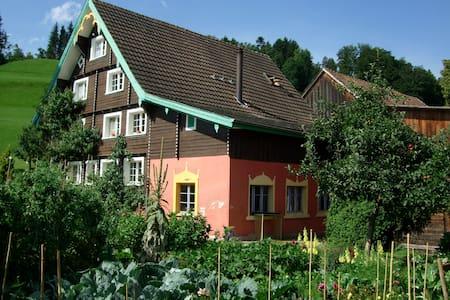 BnB Zimmer im sonnigen Toggenburg - Mosnang - Bed & Breakfast