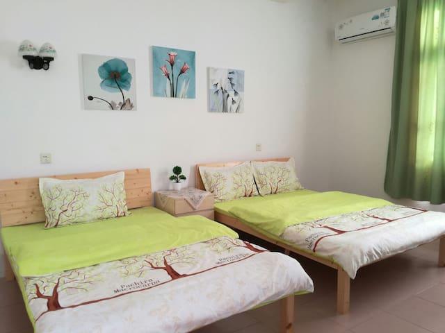 市中心安全舒适便利最本土的家庭房欢迎大家入住!