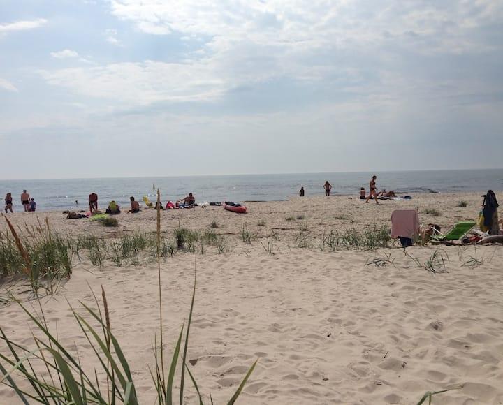 Österlen - Hagestad naturreservat med sandstrand
