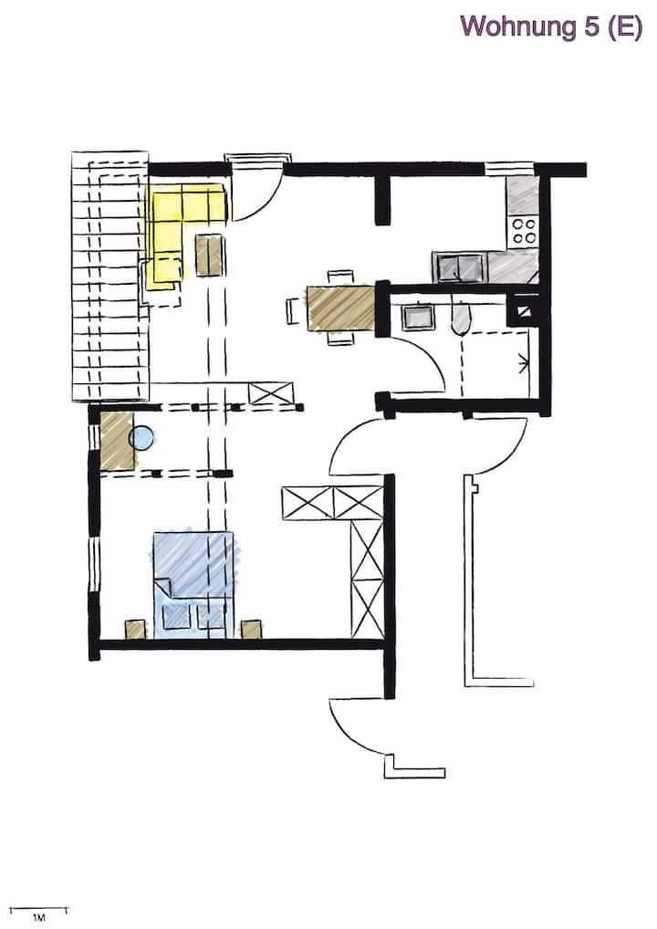 Wohnwerk41- Apartment  No. FÜNF