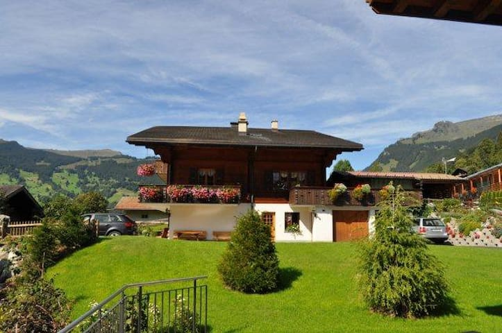 1-Zimmerwohnung in Chalet - Grindelwald - Appartement