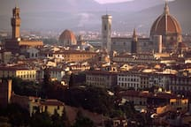 Panorama of downtown Florence