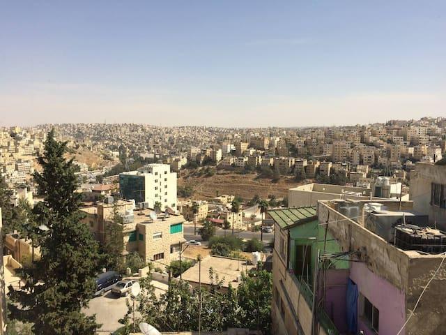 Chambre double/Sdb Jabal Amman 3ème cercle - Amman - Apartament
