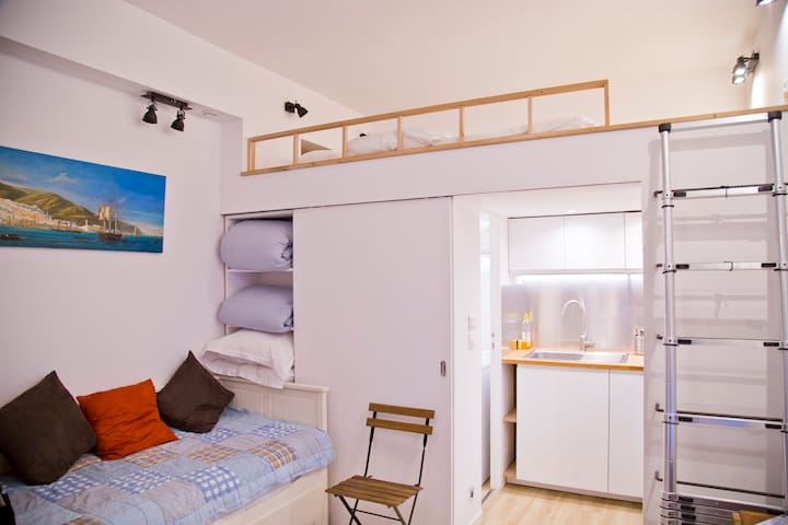 New Luxe Confortable Latin Quarter 100m Luxembourg - Paris - Apartemen