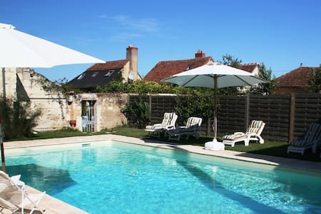 Retreat-Loire Valley B&B2 & pool - Courléon