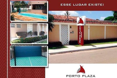 Acomodação individual no Porto Plaza Pousada - c