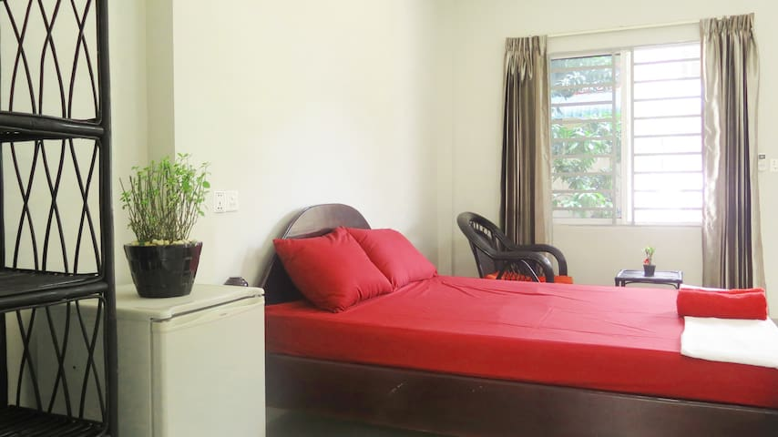 Quiet big boom with kitchen + scooter - Krong Preah Sihanouk - Apartamento