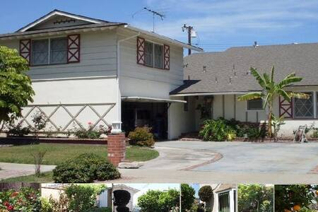 Cozy room, The air is fresh Around the quiet     Driving to: Disney 15 minutes; Huntington beach 13 miles for 20 minutes Walk to knott 's berry farmy amusement park. Provide travel information, shopping, shuttle service.