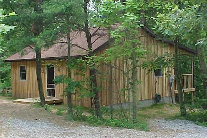 """The Nest Cabin"" at Hiding Place Cabins - Logan - Cabana"