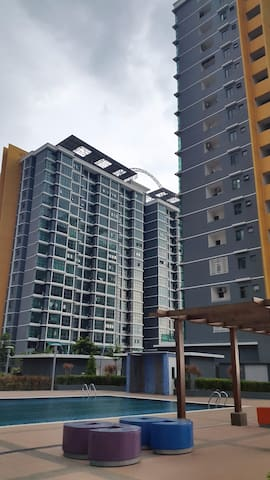 Shah Alam City Ctr Sec14 idcc Cozy Homestay 6-8pax