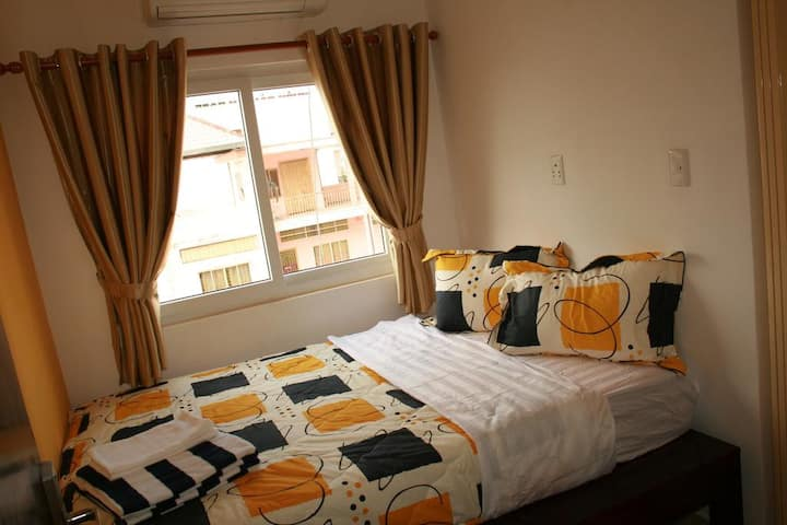 Small room with window in family hotel - Room 2