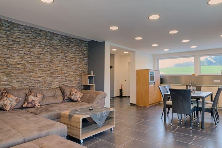 Moderne 3,5 Zi.Wohnung barrierefrei - Buchenberg - Apartment
