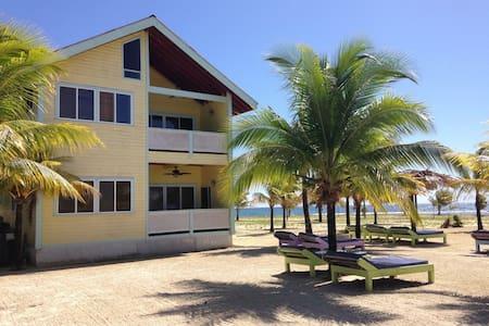 Las Palmas Beachfront Villas,Roatan - Casa