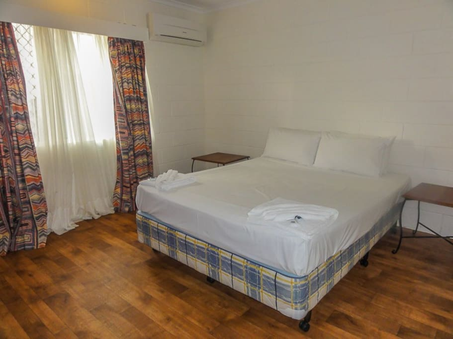 main bedroom airconditioned