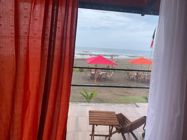 Habitación playa la Barra De Sonte.