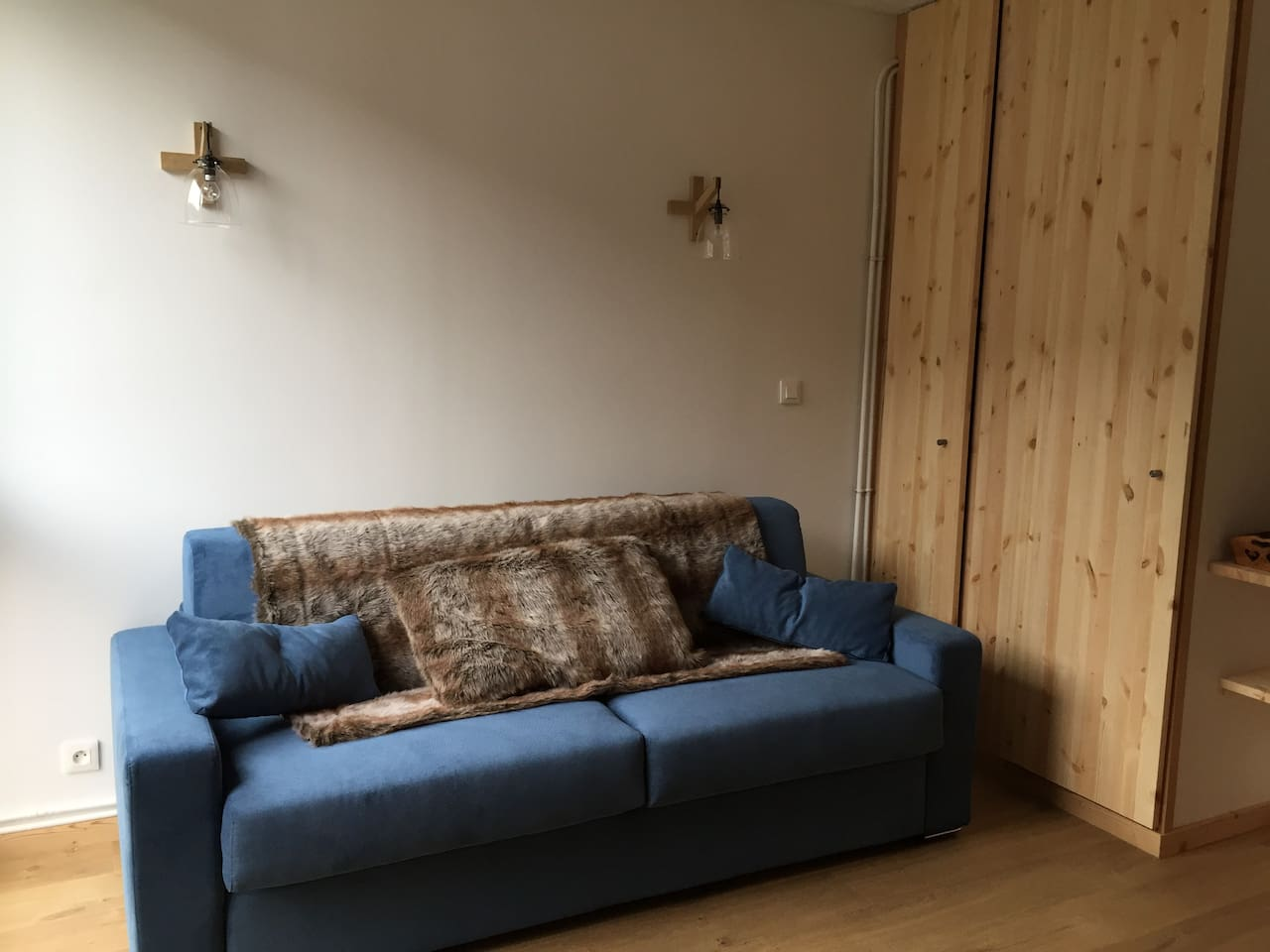 canapé lit version jour
