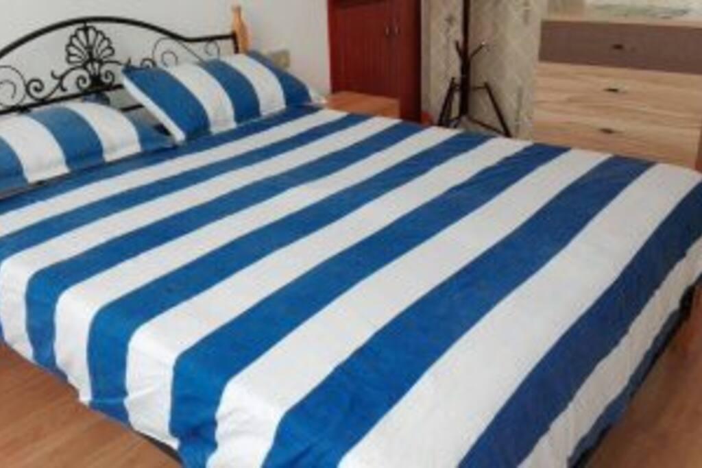 15平方的大次卧,1.5的大床