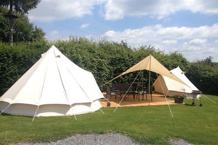 Glampingtent op Ardense heuveltop - Theux - Tent