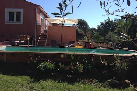 Appt en rez de villa tout confort - La Capelle-et-Masmolène