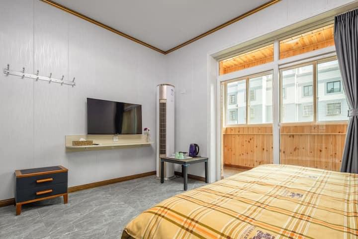 西安阎良航空基地西雅图6人度假公寓