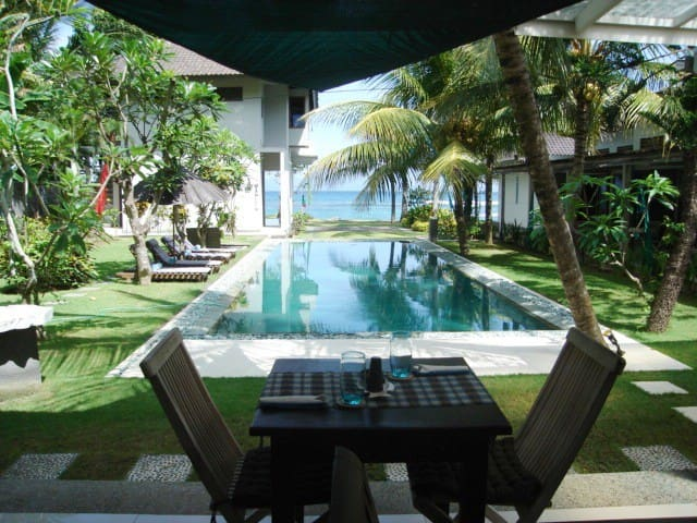 Poolside AC Room @ Aquaria Eco Resort,  Bali - Candidasa