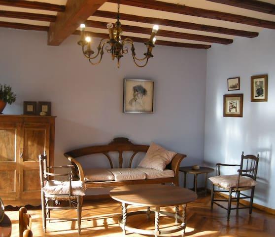 Espacio común de la casa, andador Casa Mingot.