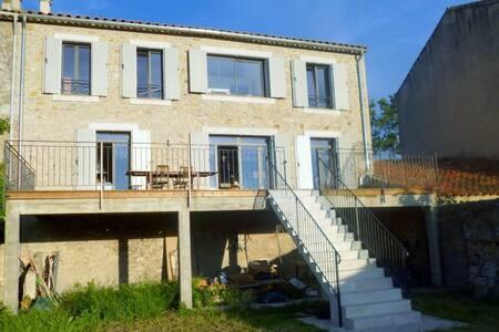 Stilvolles Ferienhaus im Languedoc - Luc-sur-Orbieu